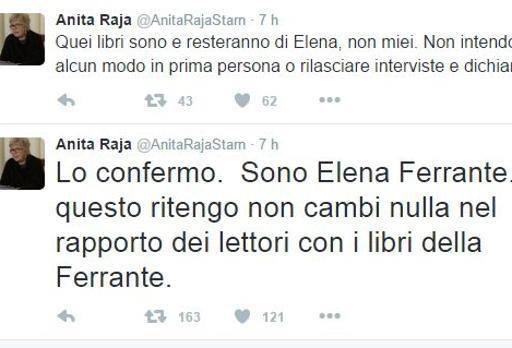 Mistero di Elena Ferrante, Anita Raja svela: «Sono io quella scrittrice»
