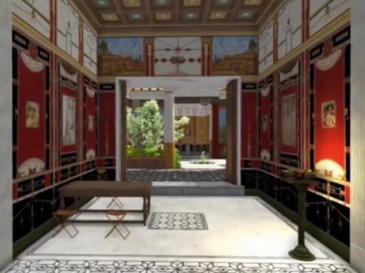 Visita a una casa dell'antica Pompei, ricostruita in 3D la dimora sfarzosa di Lucio Cecilio Giocondo