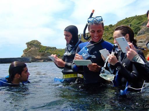 Cento studenti da tutta Italia nel Parco marino della Gaiola