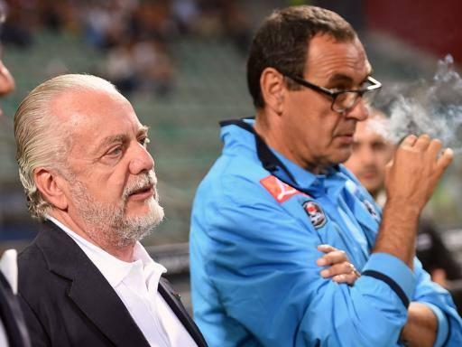 Napoli-Roma, Sarri suona la carica: «Presidente torni al San Paolo»