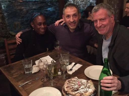Ciro Casella, da Salerno a New York La sua pizzeria piace ai vip americani