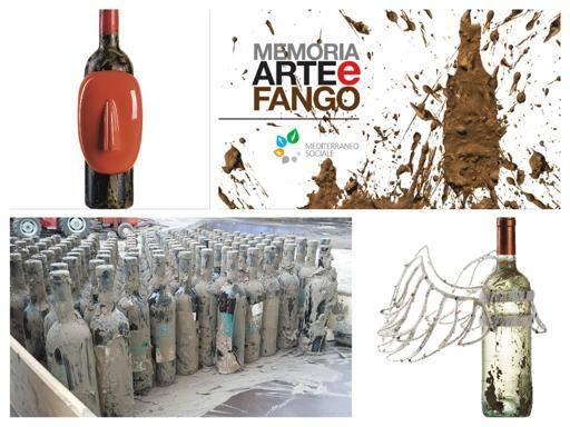 """""""Memoria, Arte e Fango"""", i vini dell'alluvione diventano memento"""
