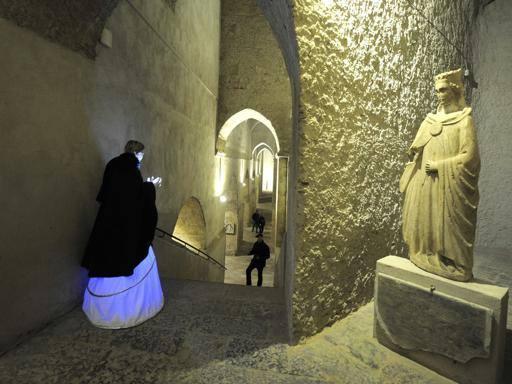 Dai sotterranei gotici di San Martino alla Piscina Mirabilis con Curiosity