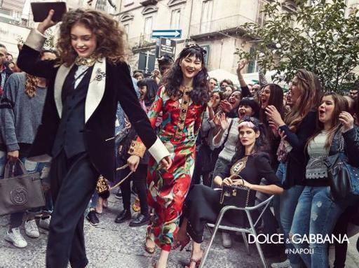 D&G a Capri per la campagna pubblicitaria estate 2017