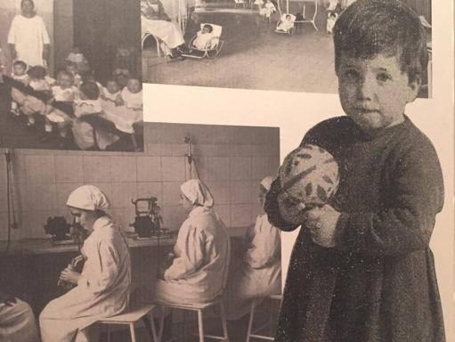 Risultati immagini per foto bambini ruota degli esposti napoli